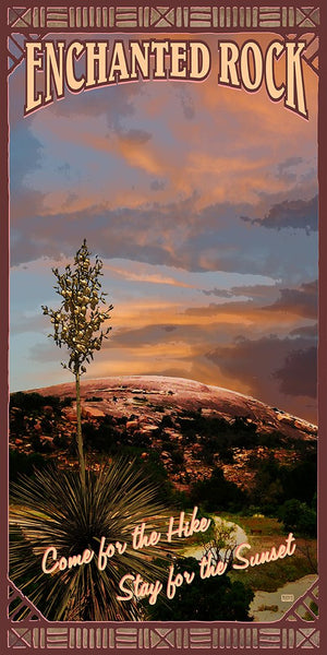 Enchanted Rock - Texas Art Posters