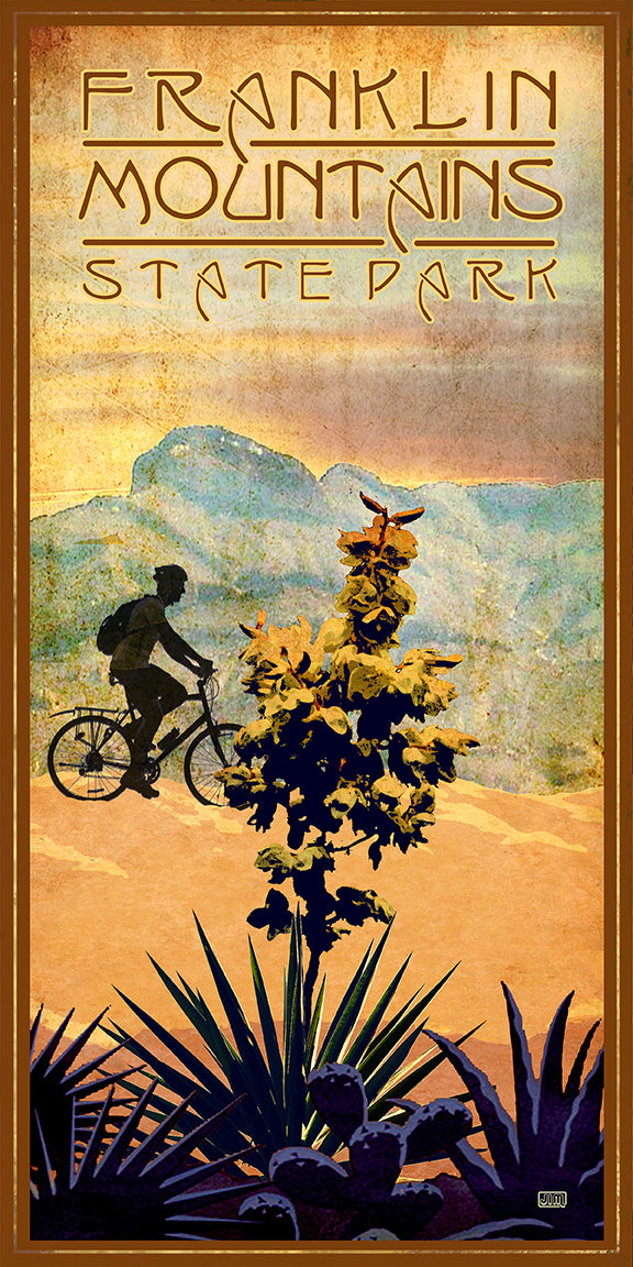 Franklin Mountains State Park - Texas Art Posters