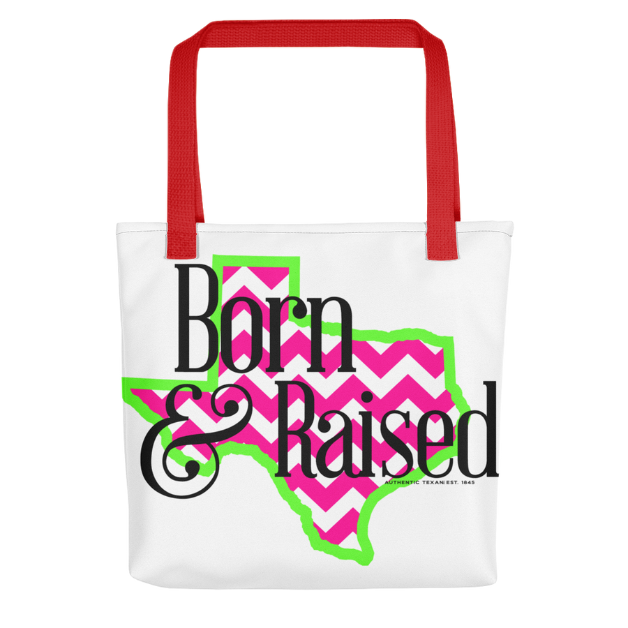 Born & Raised Tote bag