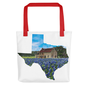 Bluebonnet House Tote bag