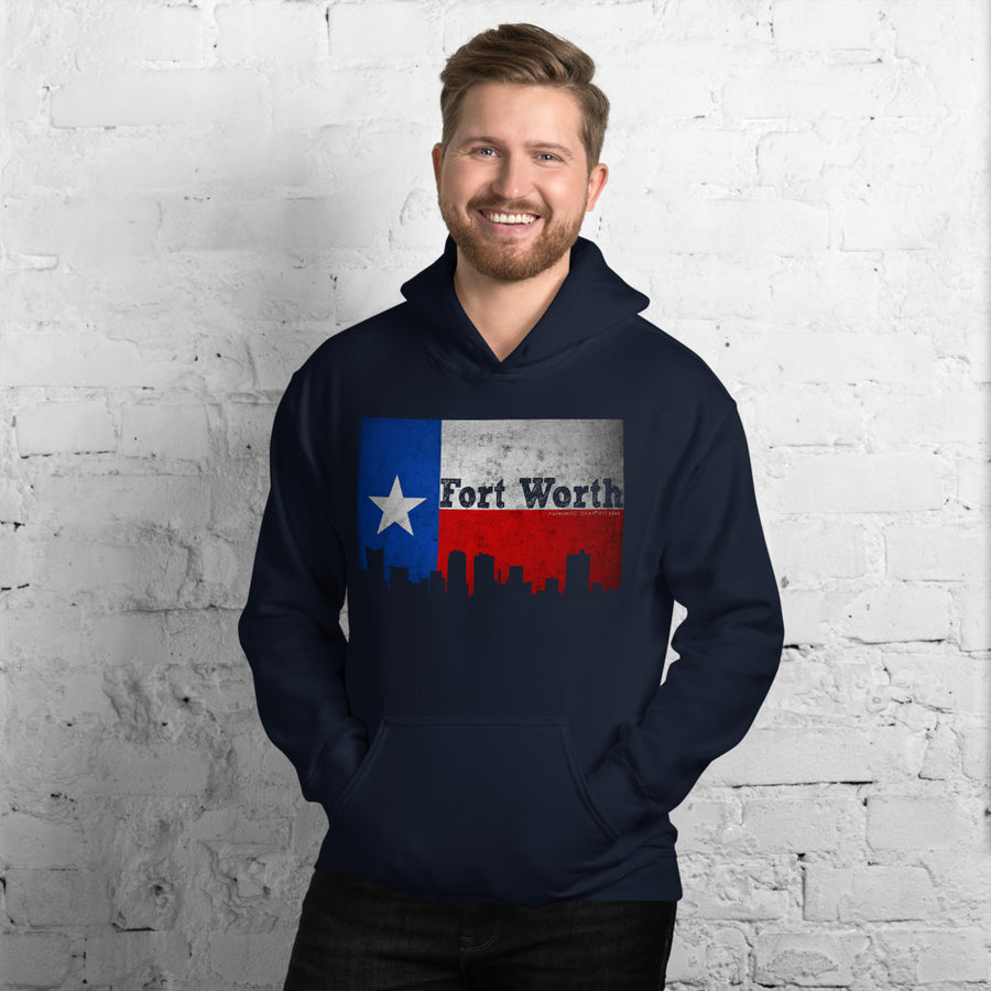 Fort Worth Flag Hoodie