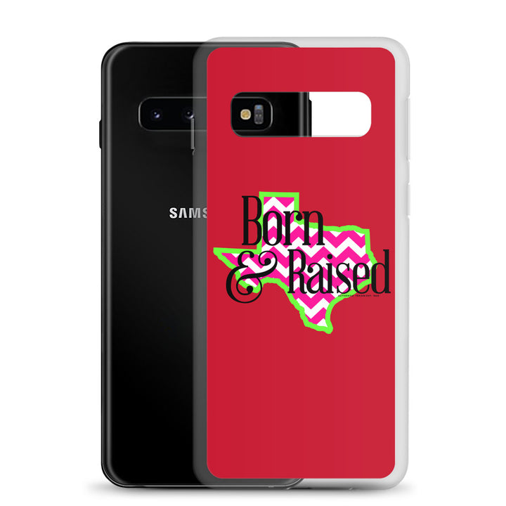 Texas Born And Raised Samsung Case