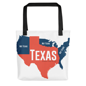 Not Texas Tote bag