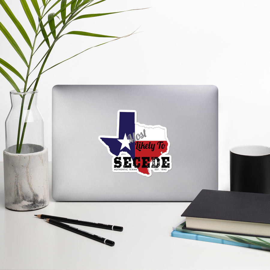Most Likely To Secede Stickers