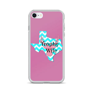 Texas Trophy Wife iPhone Case