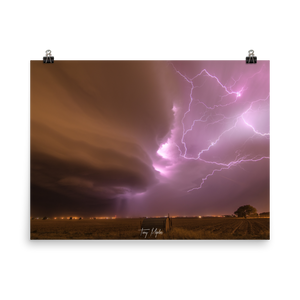 Supercell Wrapped in Lighting