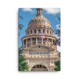 The Texas State Capitol Canvas