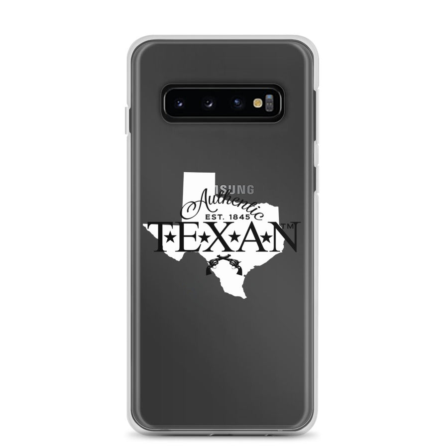 Authentic Texan Clear Samsung Case