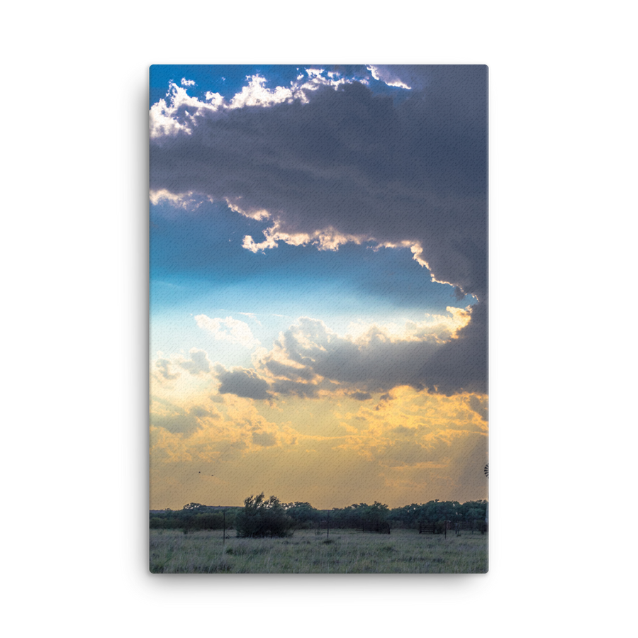 Great Plains Sunset Canvas
