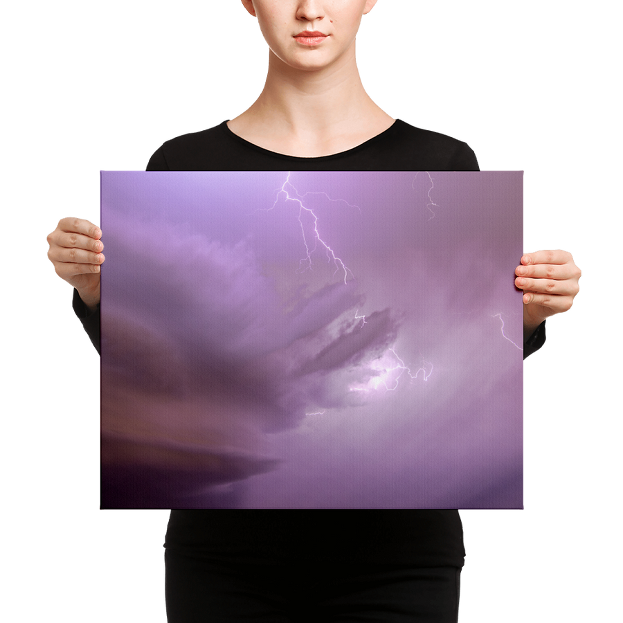 Springtime Thunderstorms Canvas