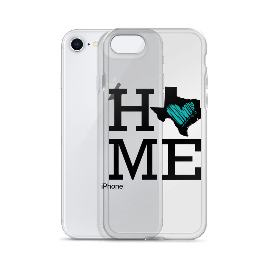 Home Is Where Heart Is iPhone Case
