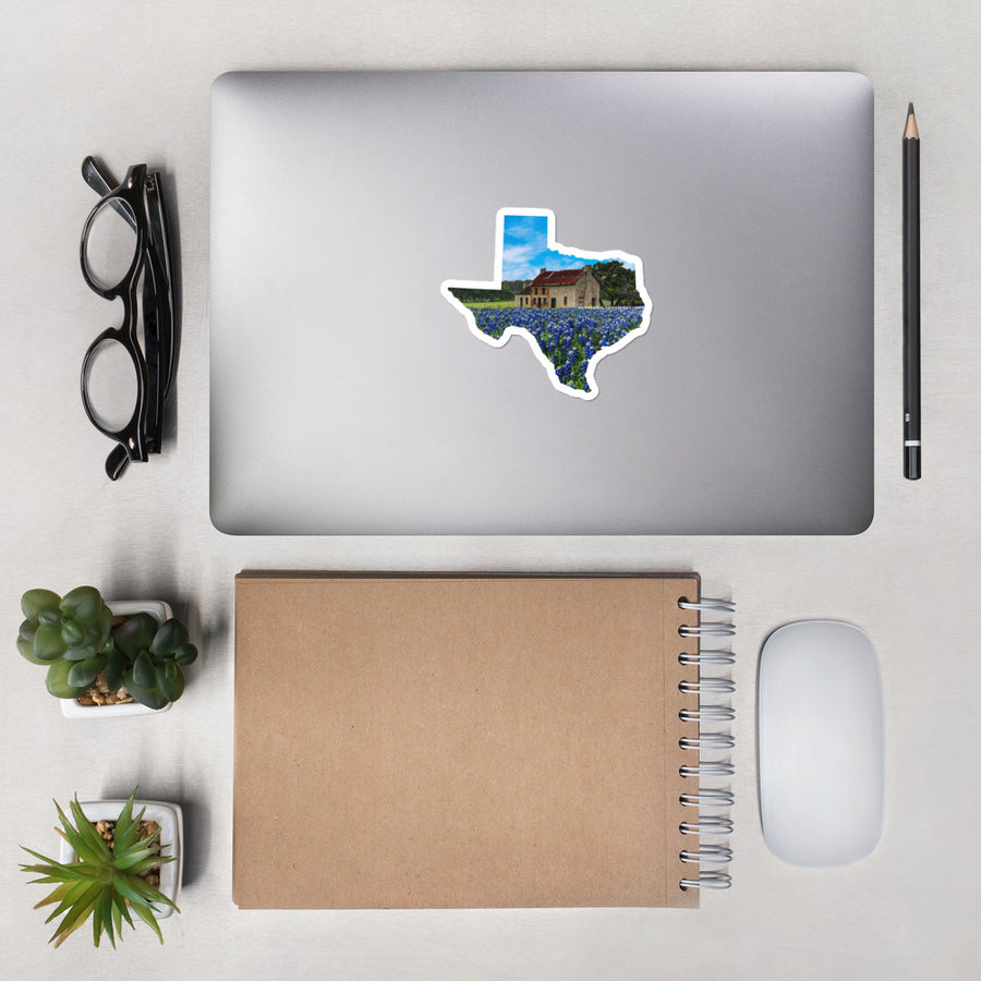 Bluebonnet House Stickers