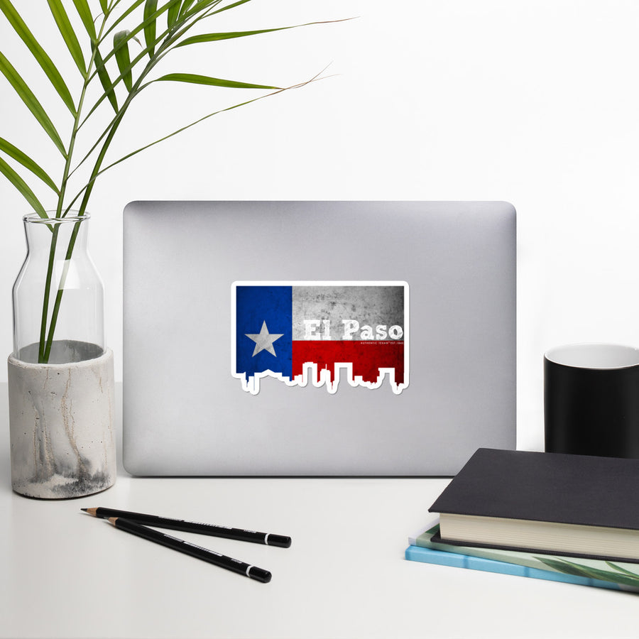 El Paso Texas Skyline Stickers
