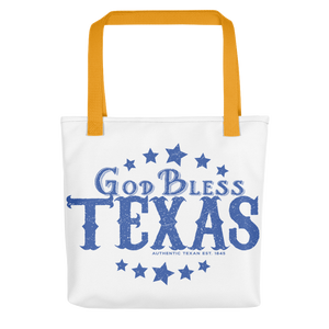 God Bless Texas Tote bag