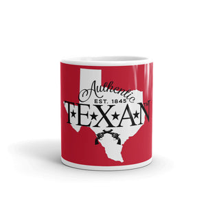 Authentic Texan (Red) Mug