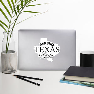 Genuine Texas Girl Stickers