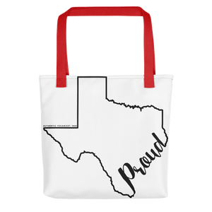 Texas Proud Tote bag