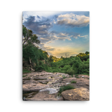Silver Falls Sunset Canvas