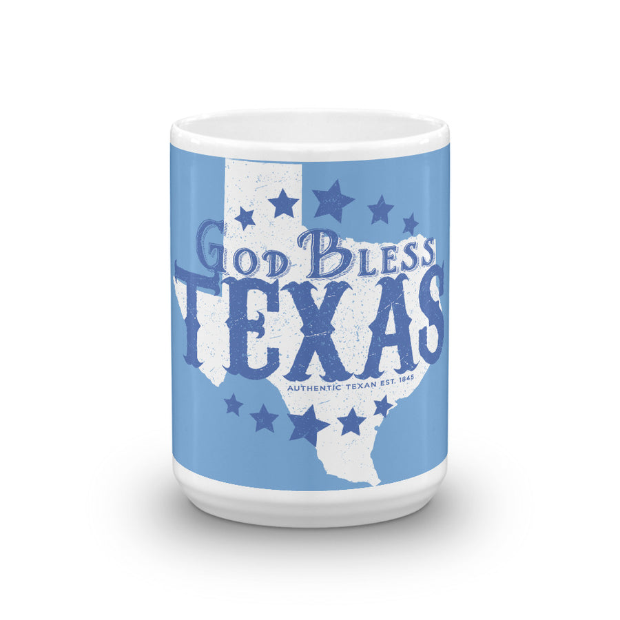 God Bless Texas Mug