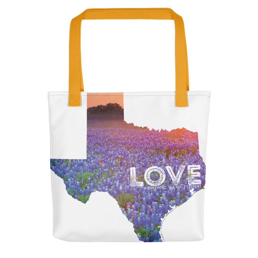 Bluebonnet Love Tote bag