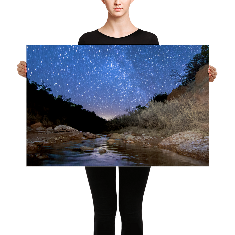 Caprock Canyon Stargazing Canvas