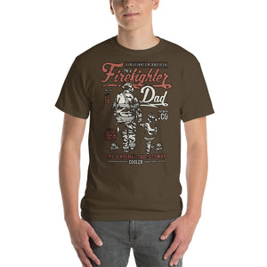 Firefighter Dad T-Shirt