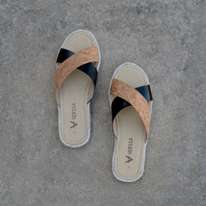 Chinelo Summer VERSSA Black Cork, Chinelo Summer, VERSSA