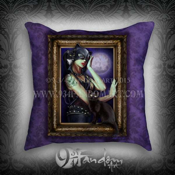 Villainous Visions - Wicked Kitty - Pillow