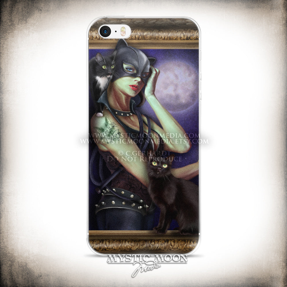 Villainous Visions - Wicked Kitty - iPhone Case