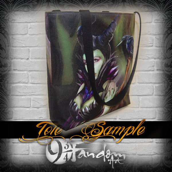 Villainous Visions - Psychotic Beauty - Tote