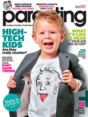 Parenting Magazine - February 2013 Cover