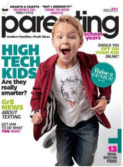 Parenting School Years - February 2013 Cover