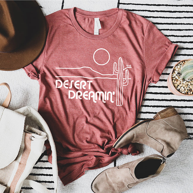 Desert Dreamin' Graphic Tee | Alley & Rae Apparel