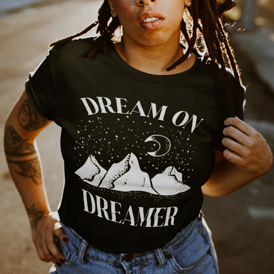 Dream On Dreamer Tee Shirt by Alley & Rae Apparel