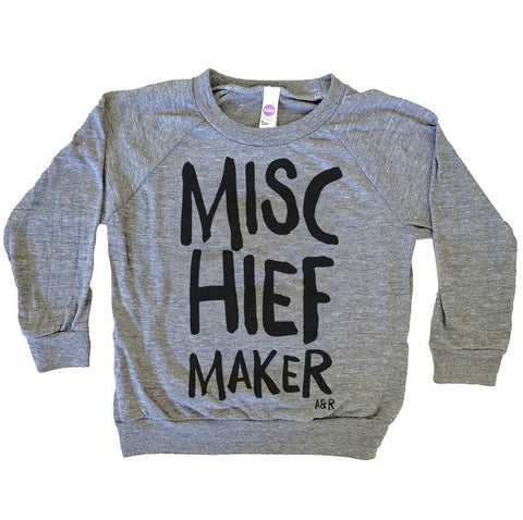 Toddler Size 6 - Mischief Maker Pullover - Final Sale