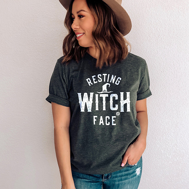Resting Witch Face Tee Shirt