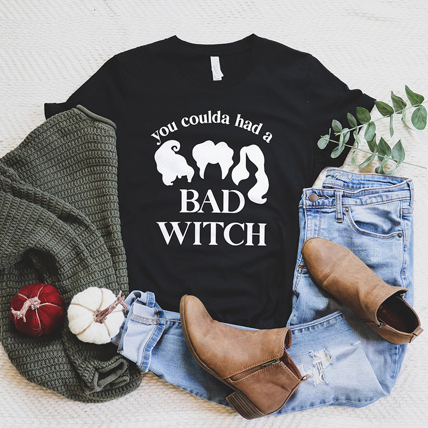 You Coulda Had A Bad Witch Tee Shirt