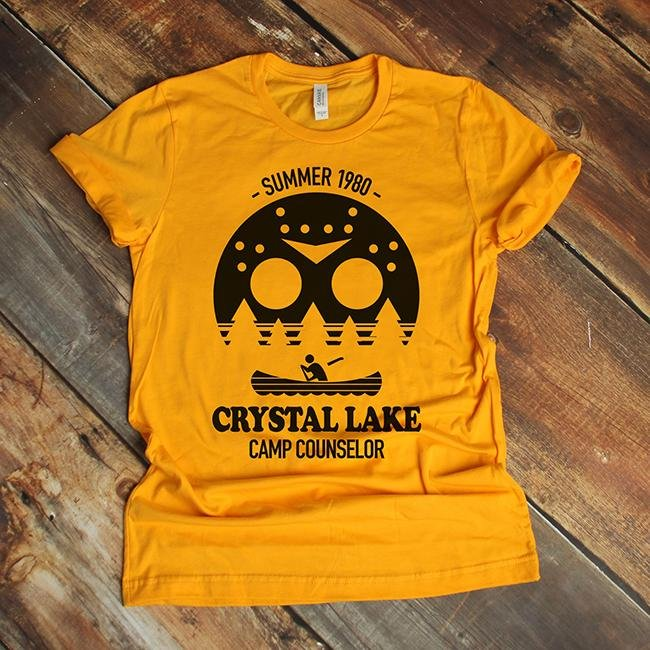 Crystal Lake Camp Counselor Tee - Alley & Rae Apparel