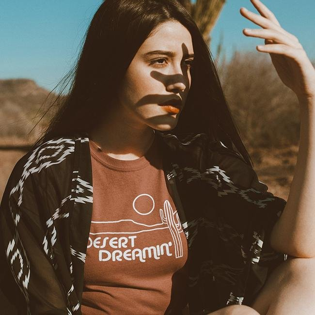 Desert Dreamin' Tee Shirt - Alley & Rae Apparel