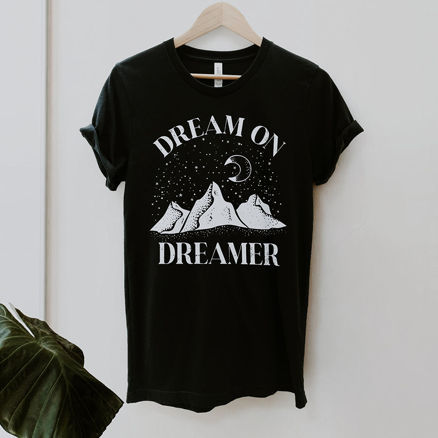 Dream On Dreamer Graphic Tshirt | Alley & Rae