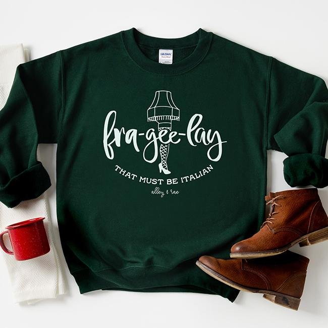 Fra-Gee-Lay Unisex Sweatshirt - Alley & Rae Apparel