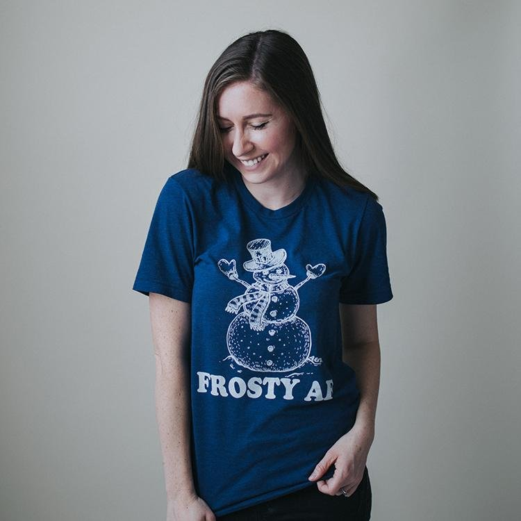 Frosty AF Tee - Alley & Rae Apparel