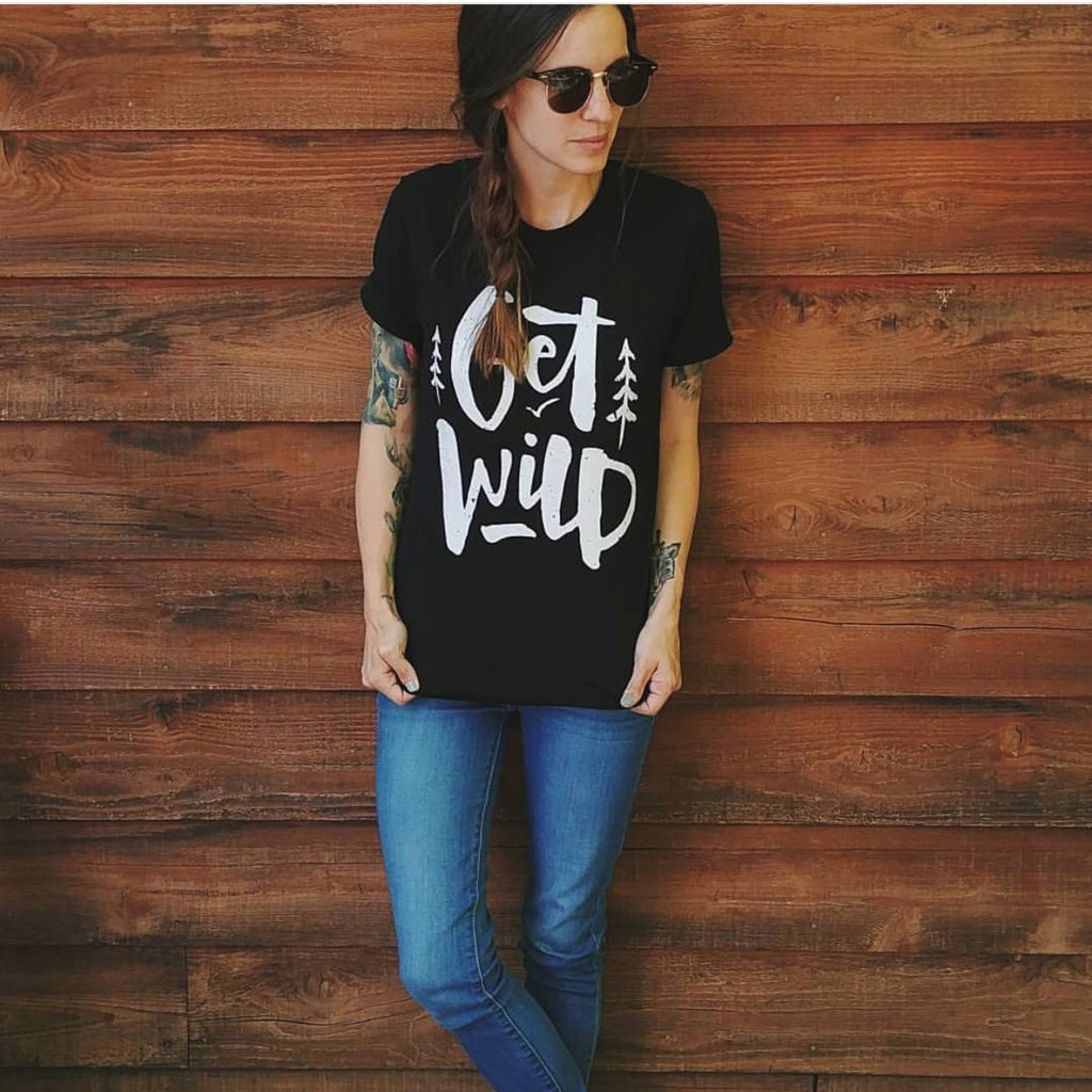 Get Wild Tee - Alley & Rae Apparel