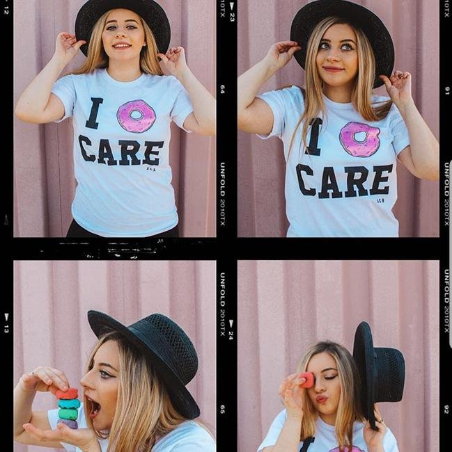 I Donut Care Tee - Alley & Rae Apparel