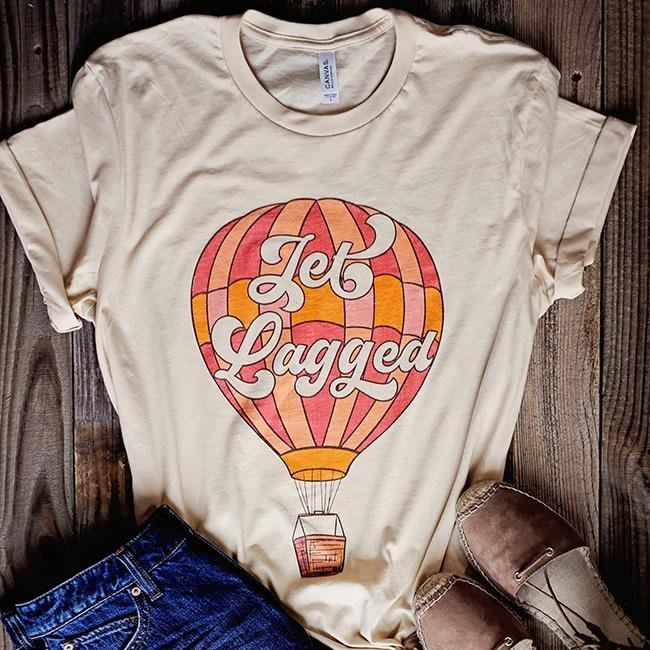 Jet Lagged Tee - Alley & Rae Apparel