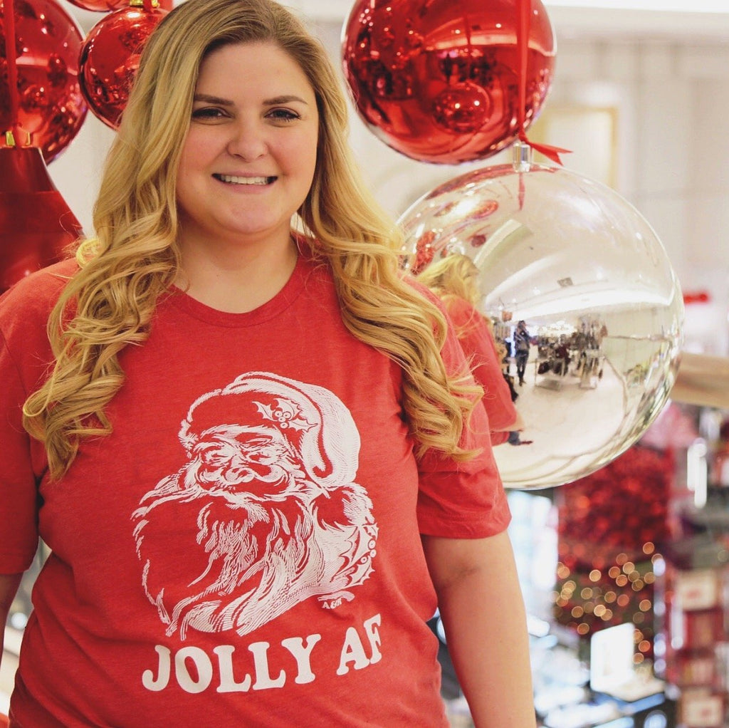 Jolly AF Tee - Alley & Rae Apparel