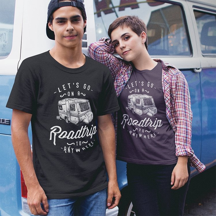 Let's Go On A Roadtrip To Anywhere Tee - Alley & Rae Apparel