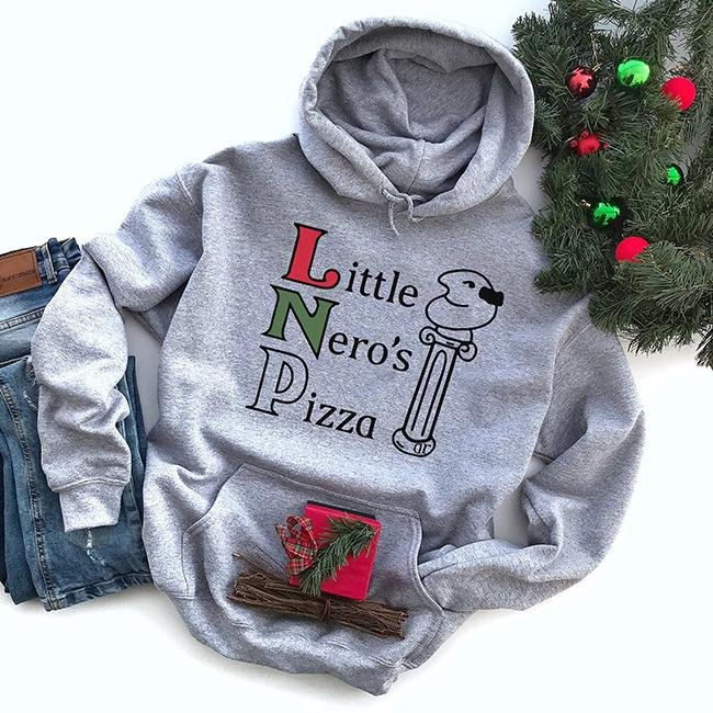 Little Nero's Pizza Hoodie - Alley & Rae Apparel