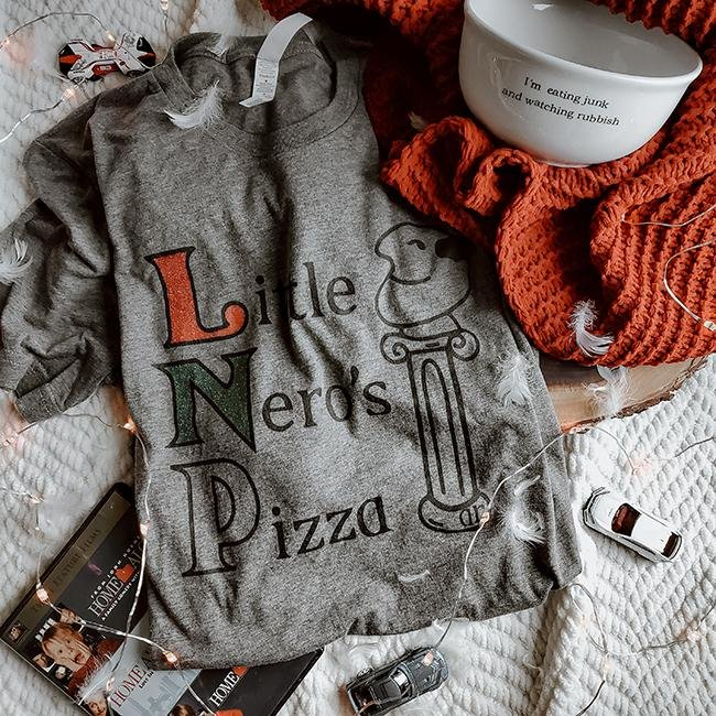 Little Nero's Pizza Tee - Alley & Rae Apparel