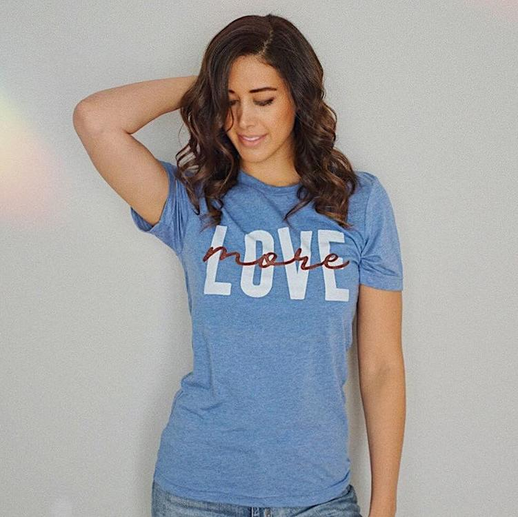 Love More Tee - Alley & Rae Apparel